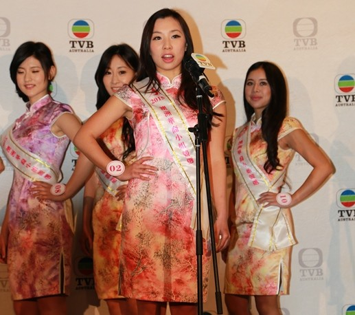 TVB Miss Chinese Australia Pageant sponsor prize winners and ambassadors announced
