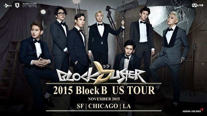 Block B US Tour Merchandise Details and Tickets onsale