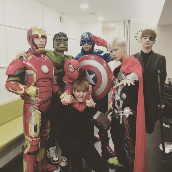 See what your favourite K-Pop Idols did for Halloween 2015