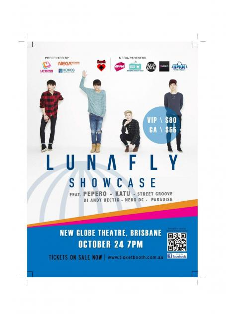 Tickets to Lunafly Brisbane Showcase on sale Friday 31 July