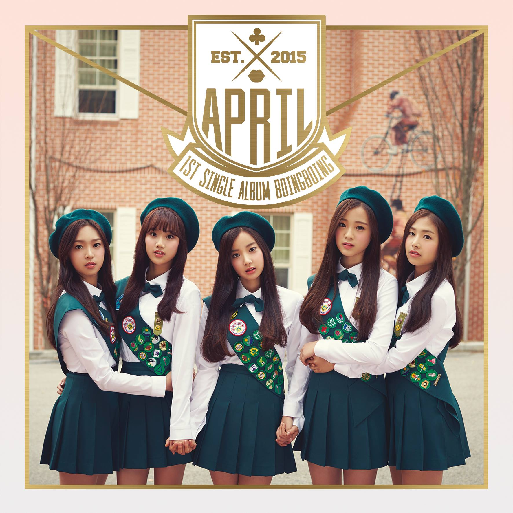 "April makes a comeback with super sweet ""Muah!"""