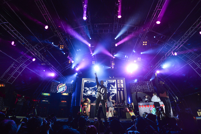 Hip hop star A$AP Rocky rocks the mic to close out the ATUM stage on day two. 嘻哈巨星 A$AP Rocky 在 ATUM 舞台上演亞洲區獨家騷。-57