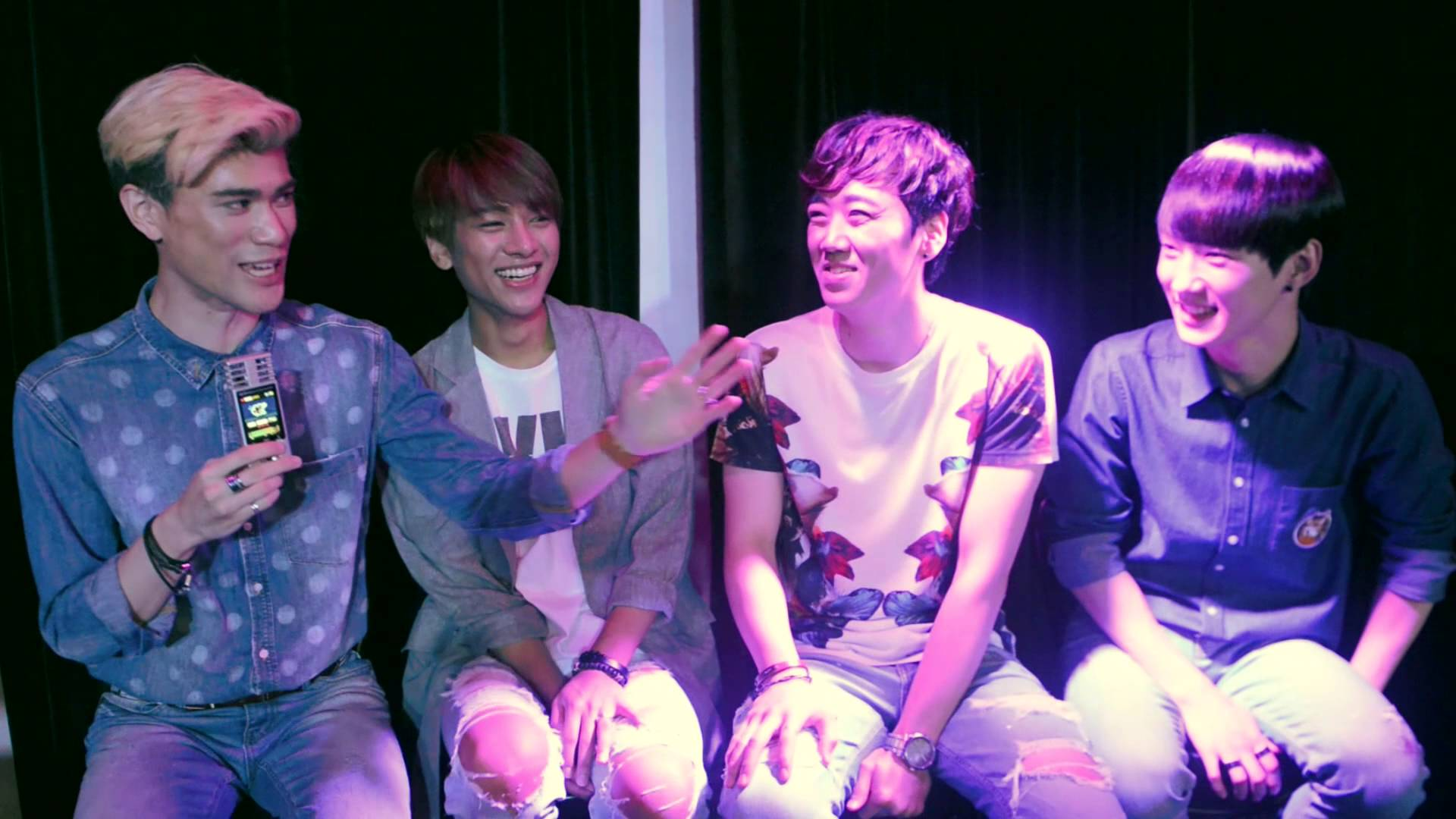 Interview: LUNAFLY (South Korea) talk to us about Einstein, Drag Queens and Sam's chest hair