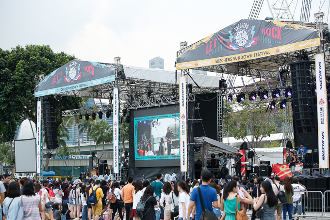 Live Review: Skechers Sundown Festival – Marina Promenade, Singapore (21.11.15)