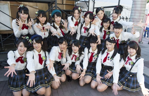 Team 8 of AKB48 performs for the first time in the Philippines