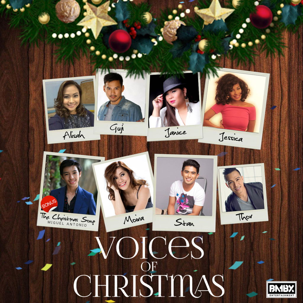 VOICES OF CHRISTMAS - Album Cover FRONT (final)