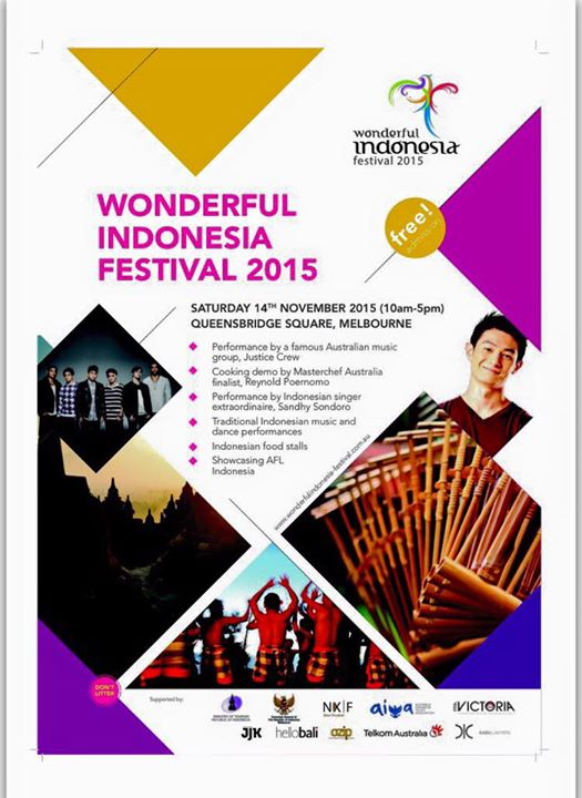 Wonderful Indonesia Festival Poster