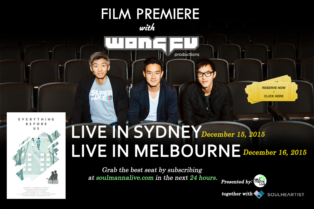 Wong Fu Productions coming to Sydney and Melbourne in December
