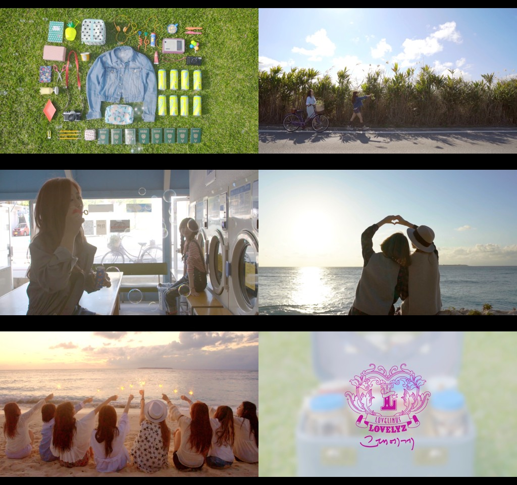 Lovelyz - For You MV captures