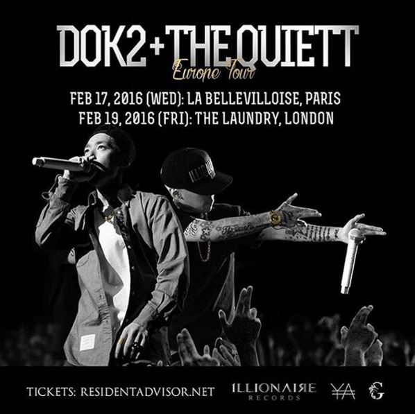 1LLIONAIRE to tour Europe in February 2016
