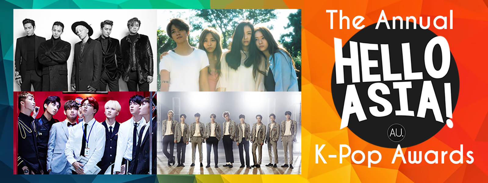 Full winners list from 2015 Hello Asia K-Pop Awards