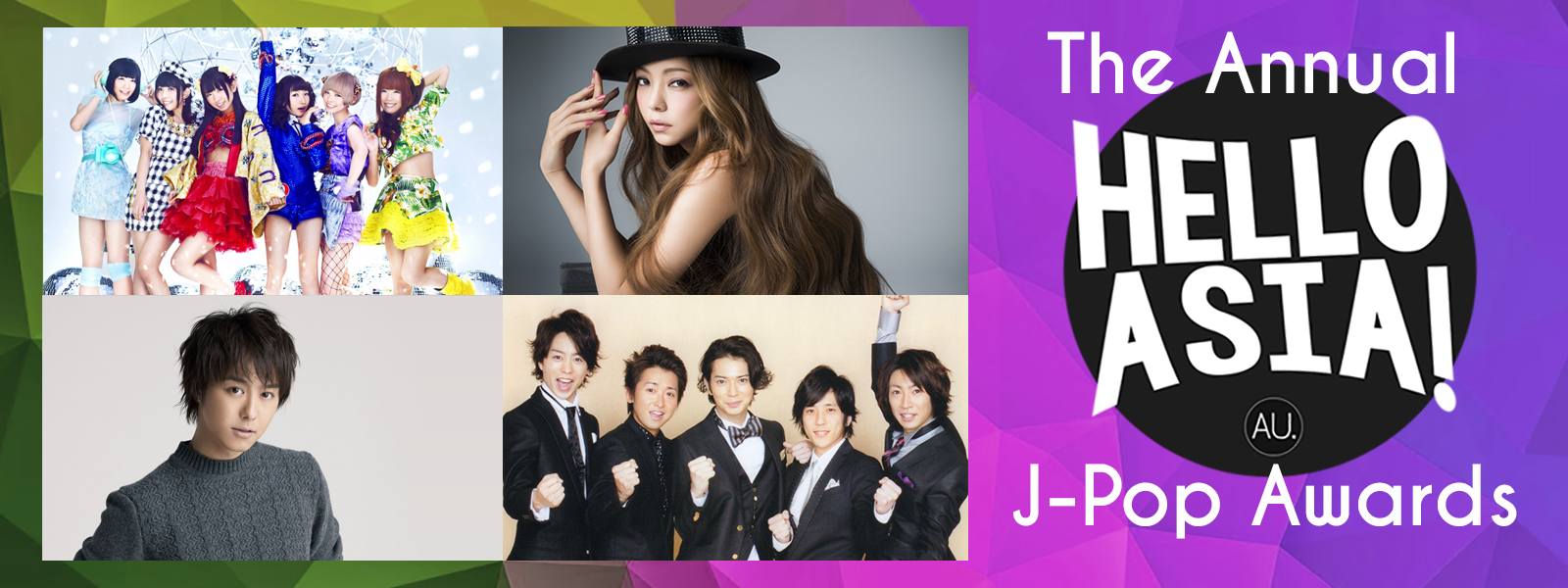 2015 Hello Asia! J-Pop Awards – Nominees Revealed!