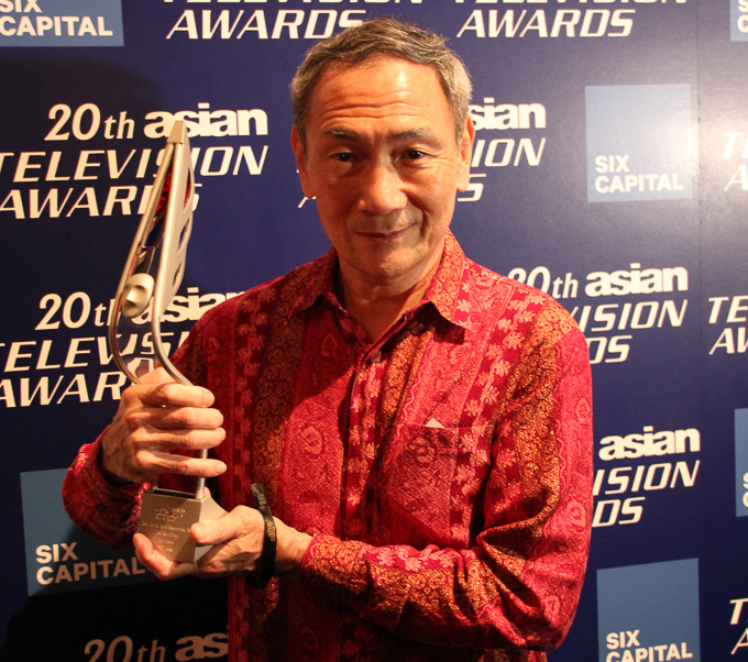Interview: Lim Kay Tong (Singapore) on a veteran's drop-dead persistence at 20th Asian TV Awards