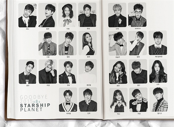 "Starship Entertainment artists bring the Christmas cheer in their new MV ""Softly"""