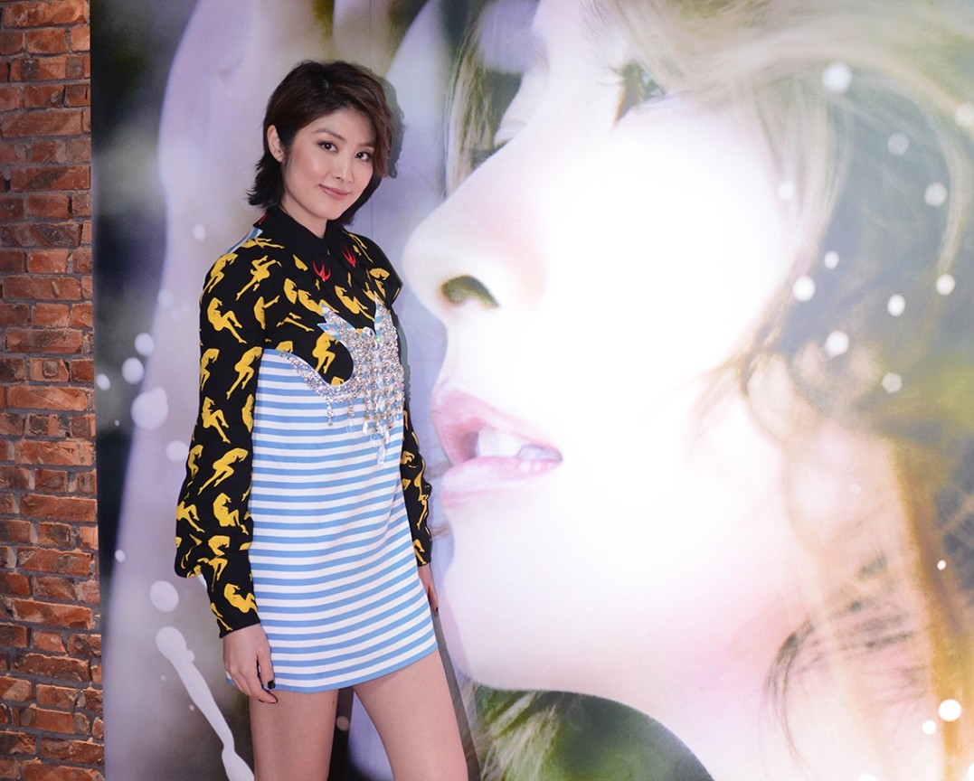Kelly Chen celebrates her 20th year in the Hong Kong music industry with the release of new album
