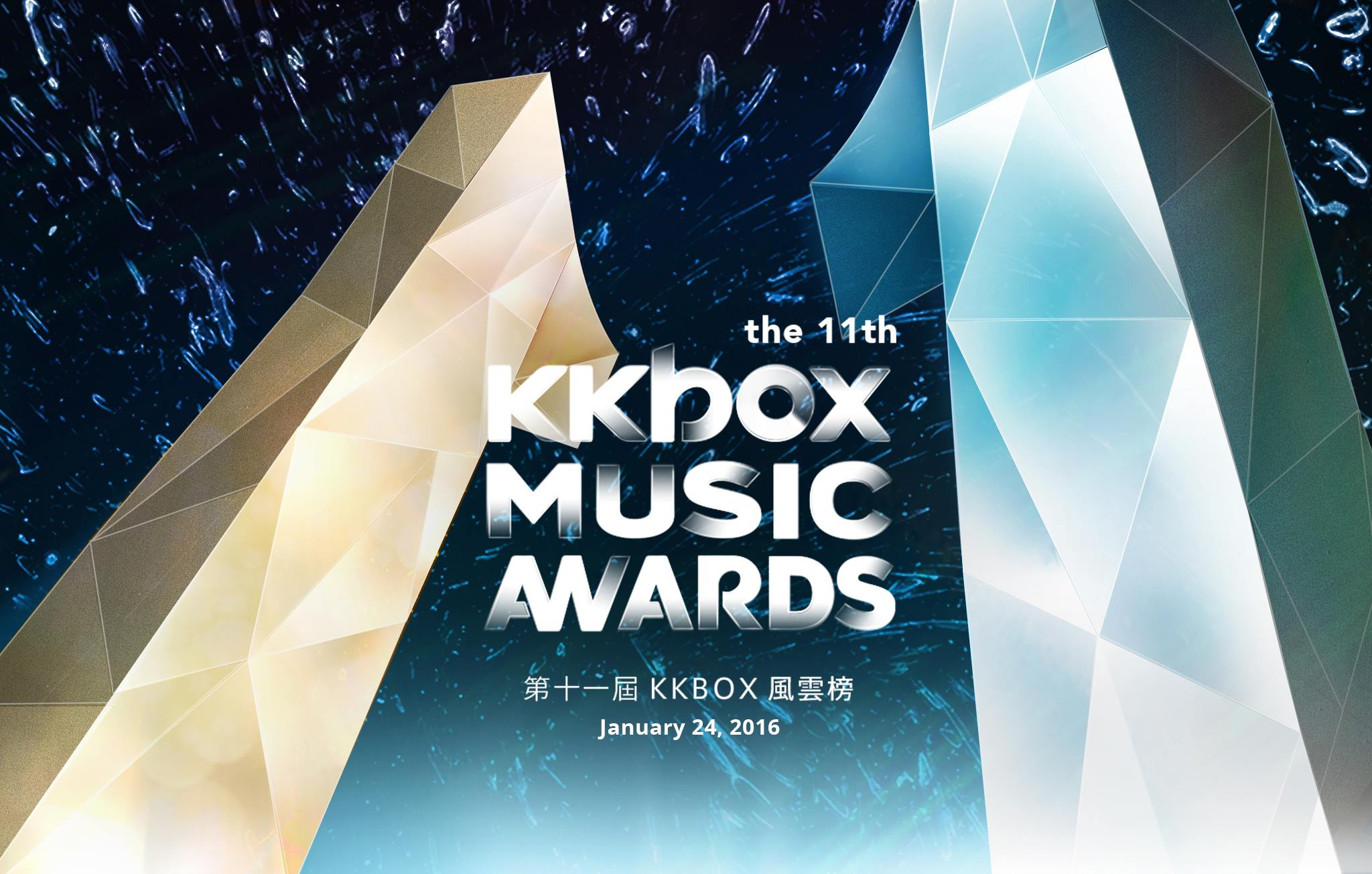 Live Blog: 11th KKBox Music Awards from Taipei Arena, Taiwan