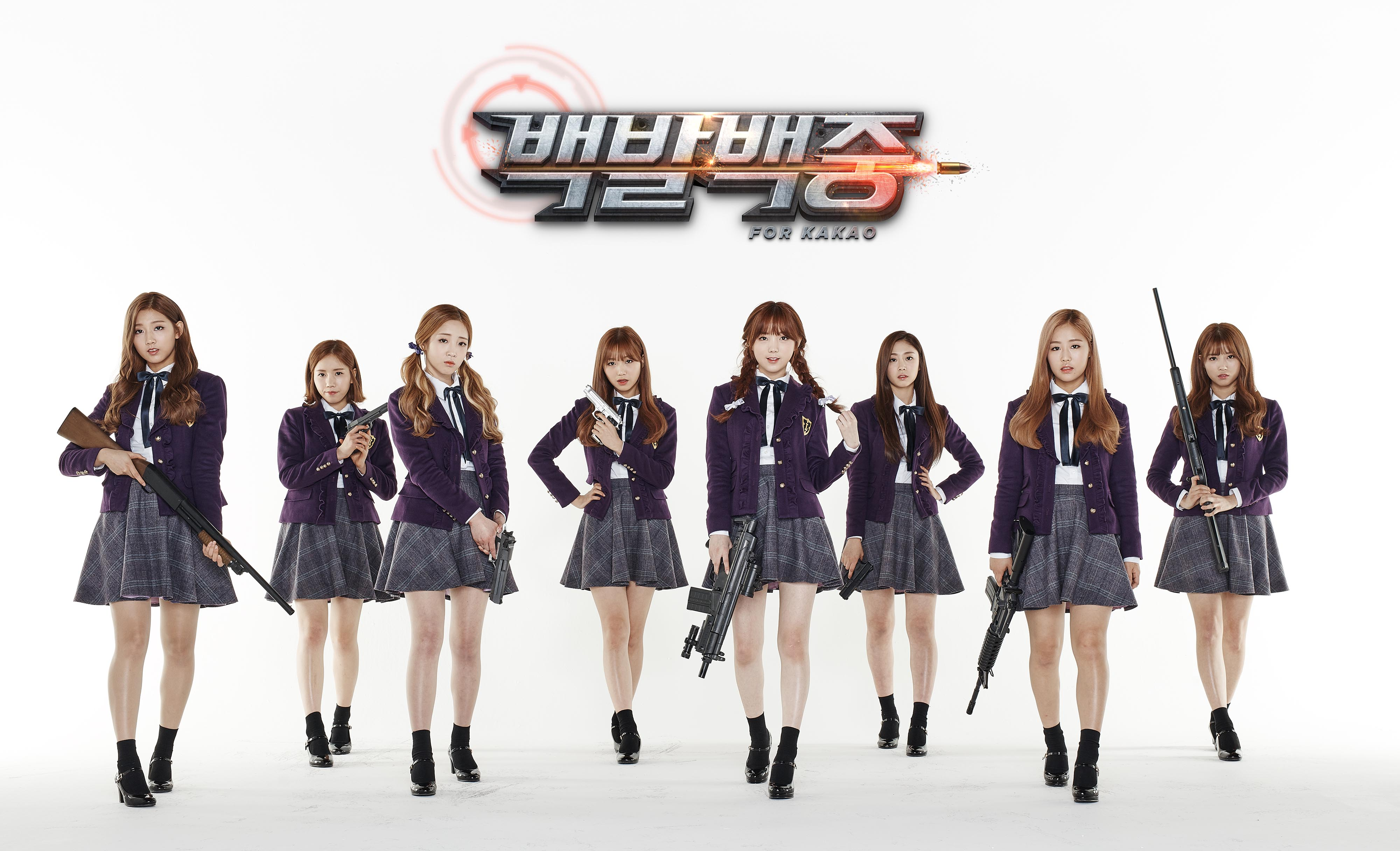 Lovelyz chosen as models for a first-person shooter game