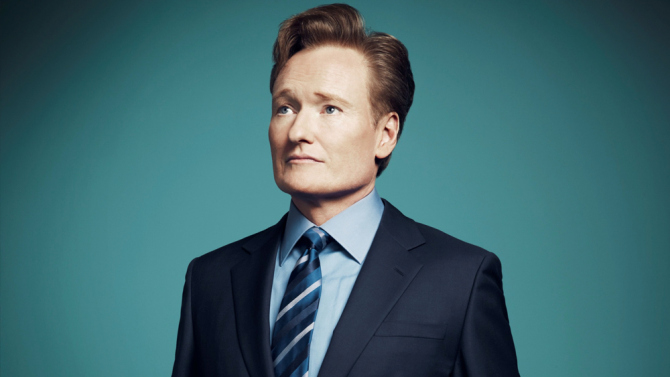 US talk show host Conan O'Brien arrives in Korea to a HUGE welcome