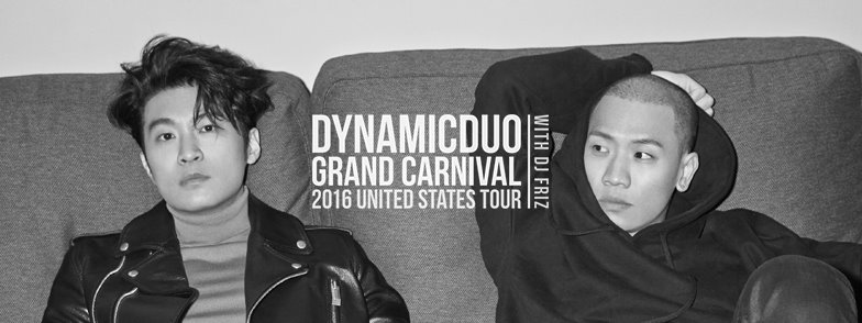 Korean hip hop masters Dynamic Duo announce five city US Tour