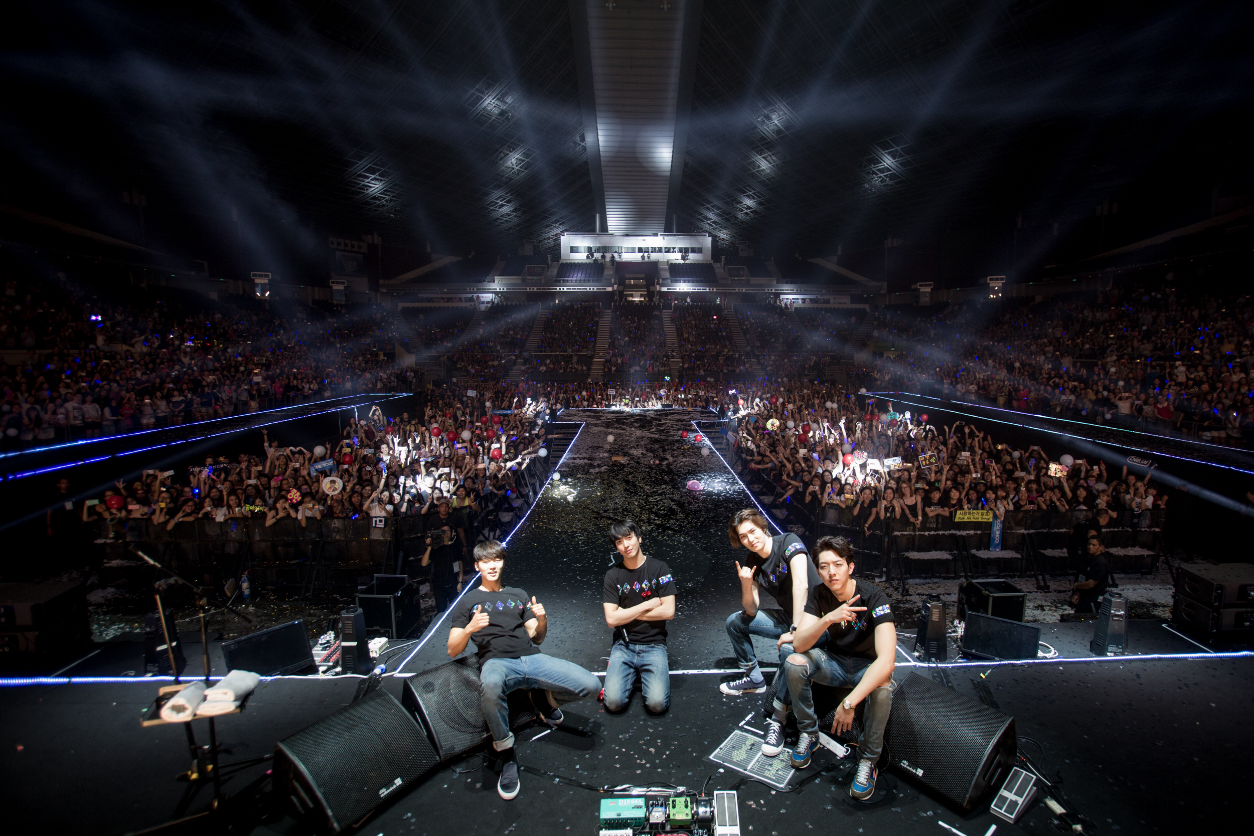CNBLUE dominate the stage at their Singapore concert