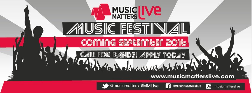 Artist submissions open for Music Matters Live 2016
