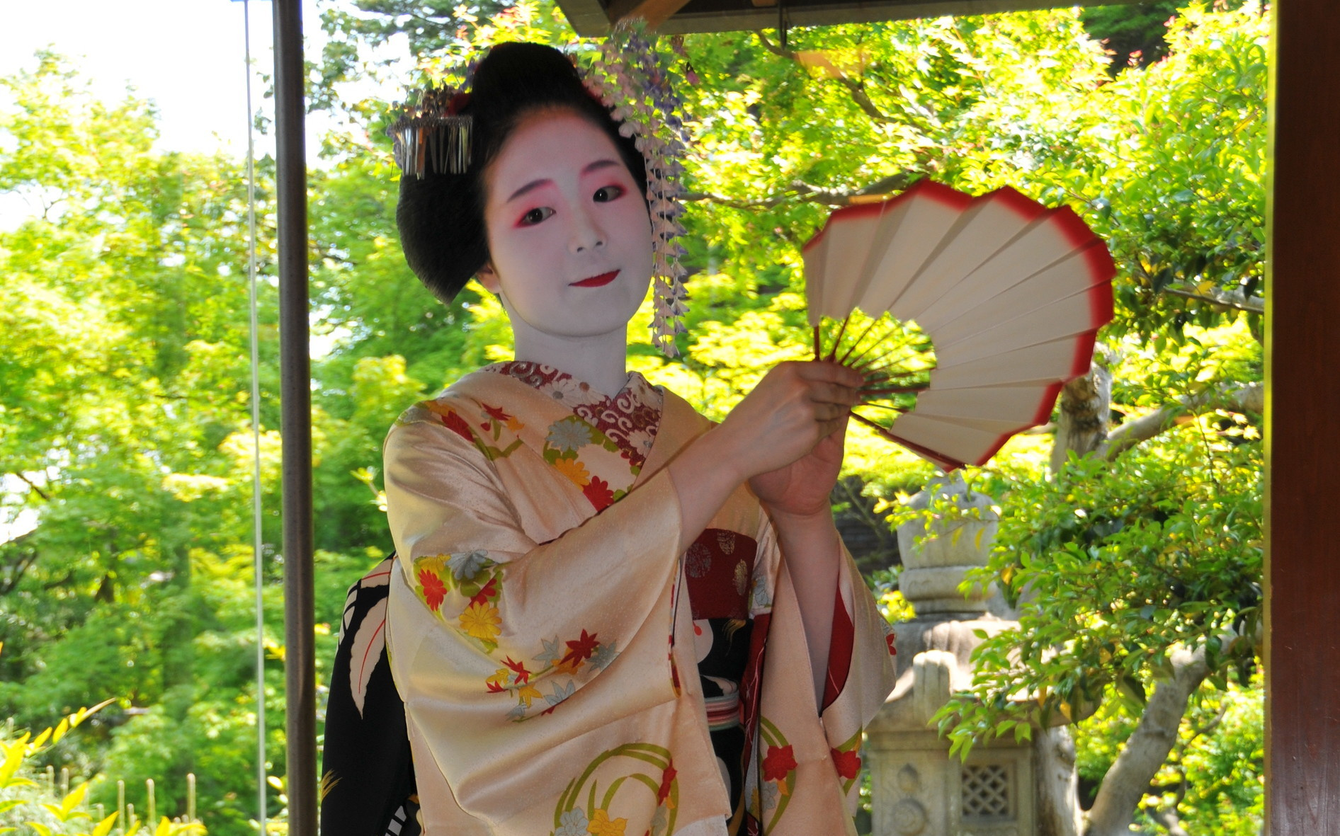 """Come see a real life geisha perform at """"Jewels of Kyoto"""""""