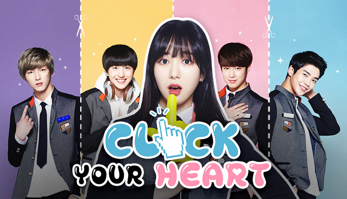 "AOA's Minah debuts on DramaFever's ""Click Your Heart"""