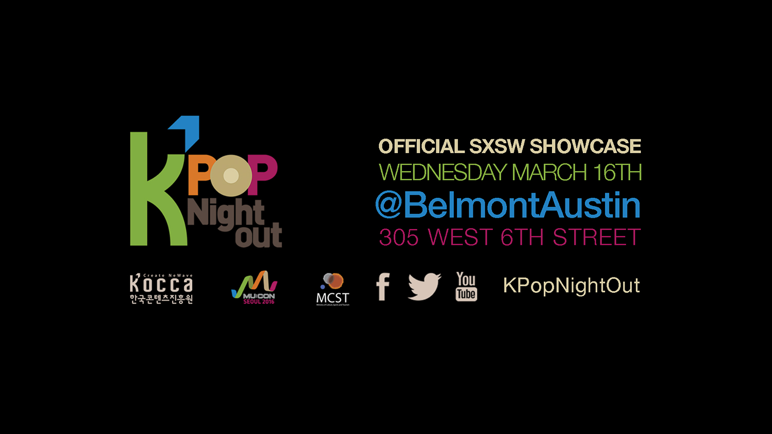 K-Pop Night Out at SXSW returns for 2016 with exciting lineup and new venue