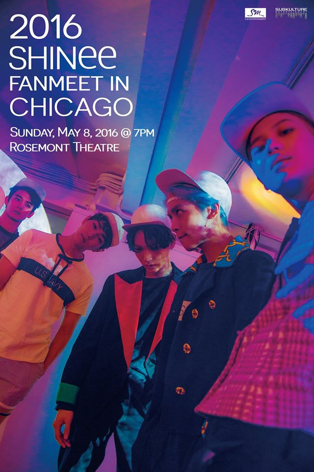 SHINee Official Fanmeet Poster