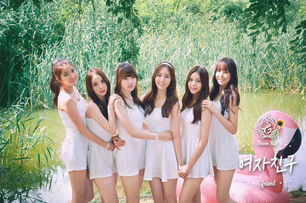 K-Pop girl group GFriend talk about the memories of their debut and that stage incident