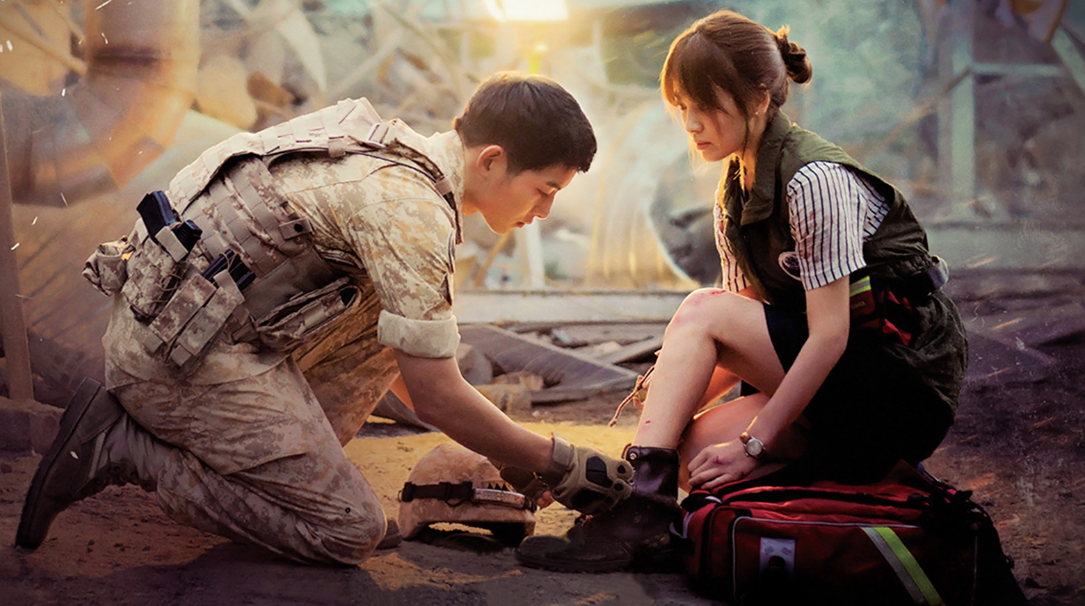 Descendants of the Sun available for the first time in Australia via TVB Anywhere