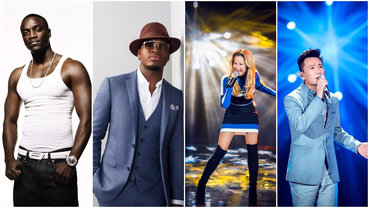 Akon and Ne-Yo confirmed as special guests in I Am A Singer 4 finale