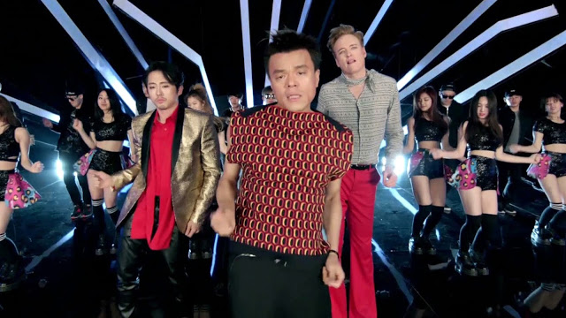 Watch the hilarious music video of Conan O'Brien with JYP, Steven Yeun, Jimin Park and more!
