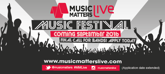 Music Matters Live call for application extended to April 14