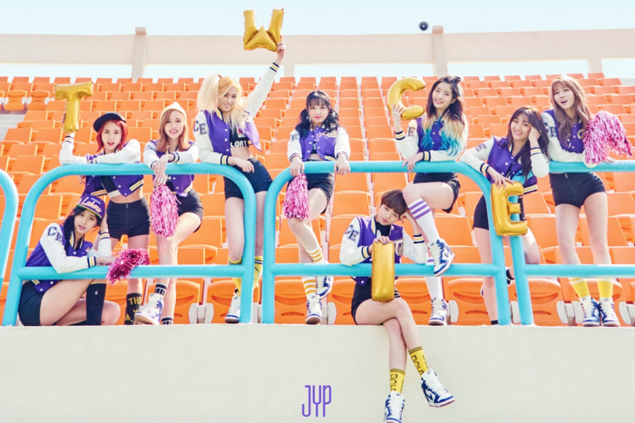 Girl group TWICE drops cheerleader themed image for comeback