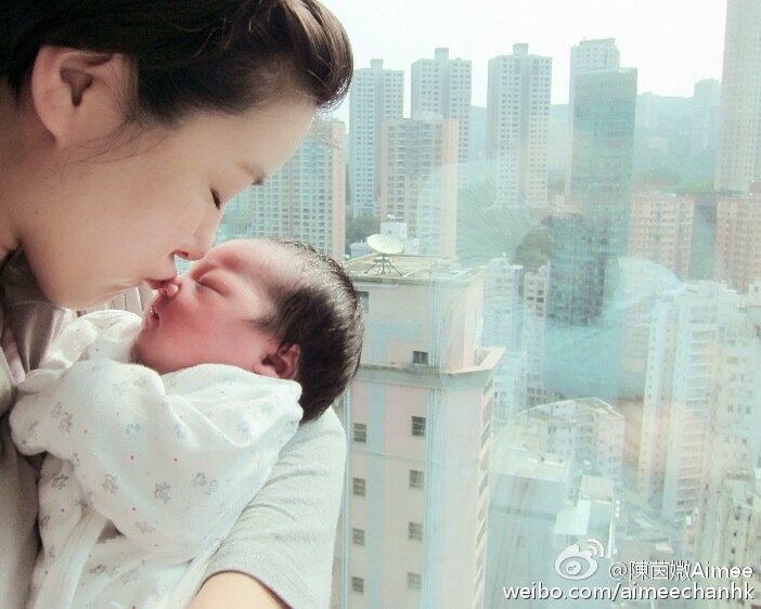 Hong Kong actors Moses Chan and Aimee Chan welcome the birth of their little princess – Camilla