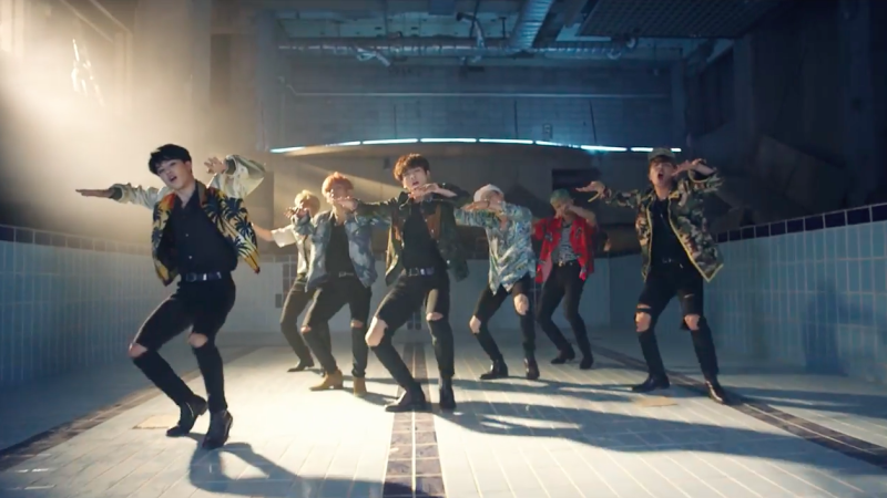 """New """"Fire"""" MV From BTS Captures Every Fan's Attention"""