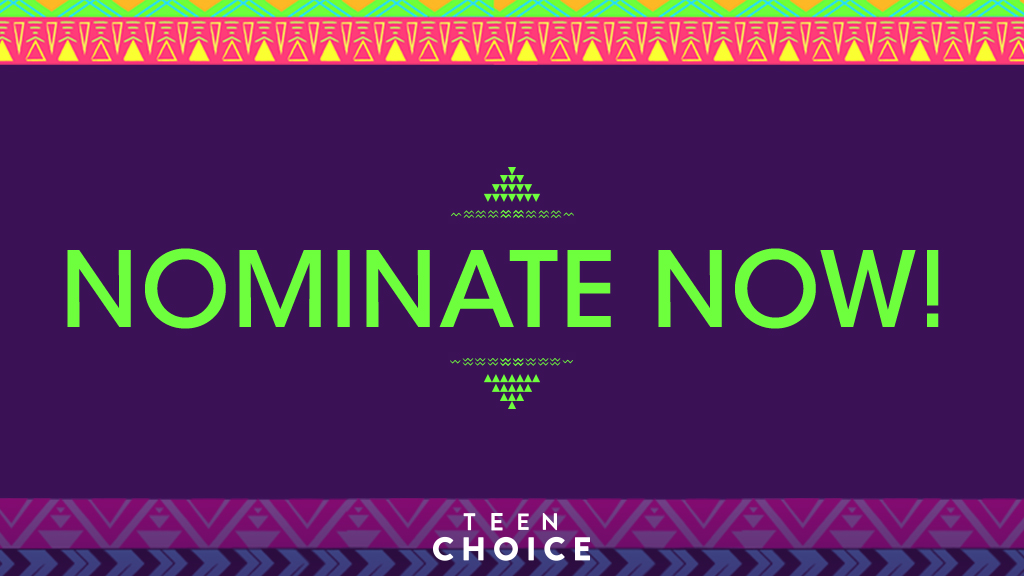 Nominate your favourite music groups for the 2016 Teen Choice Awards now!