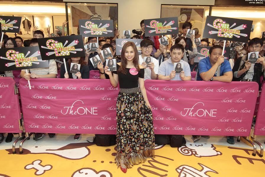"Gin Lee holds autograph session for new album ""beGin"""