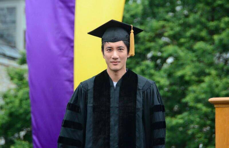 Leehom Wang is now a doctor!