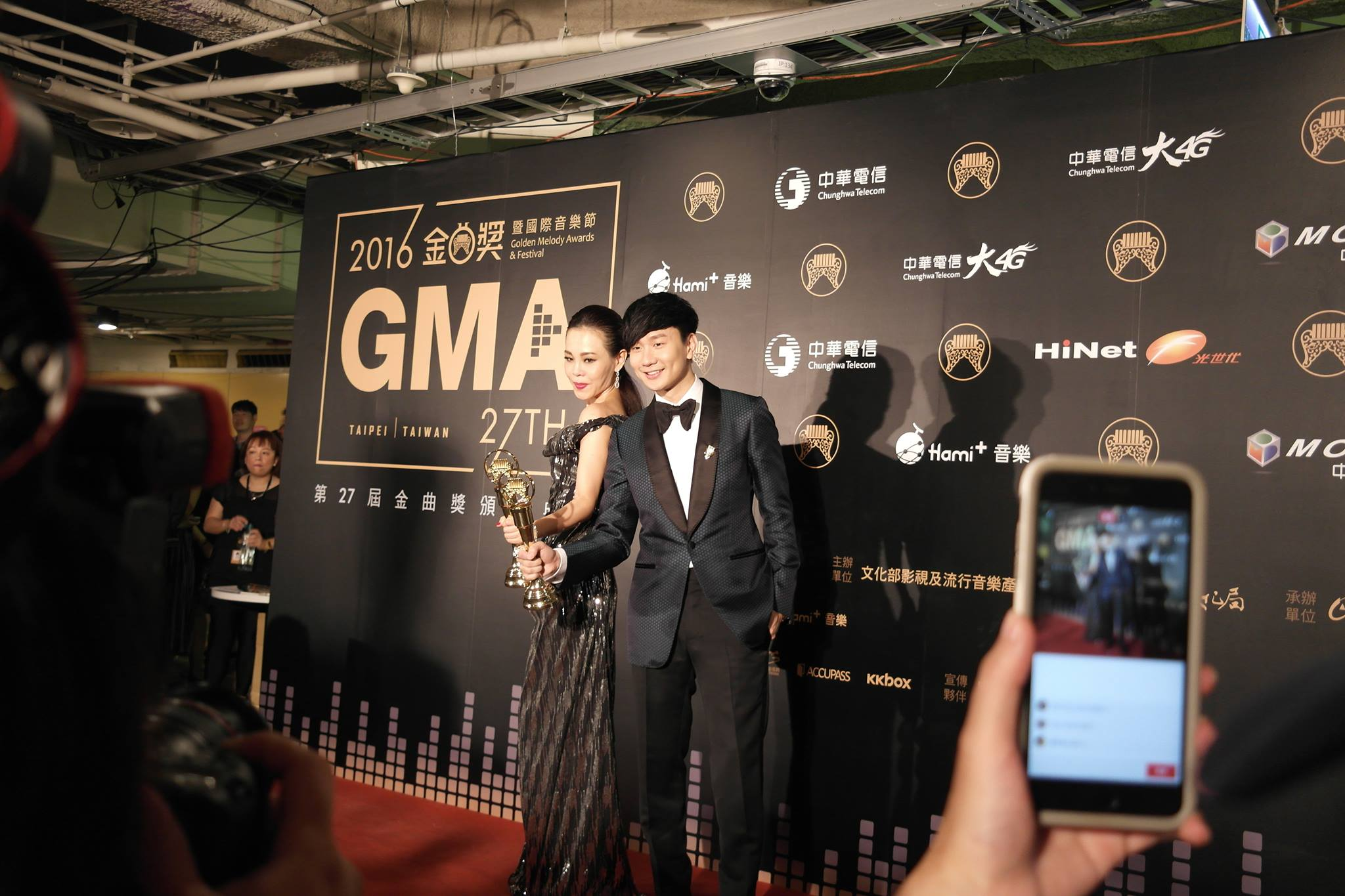 What the winners said at 27th Golden Melody Award winners wall