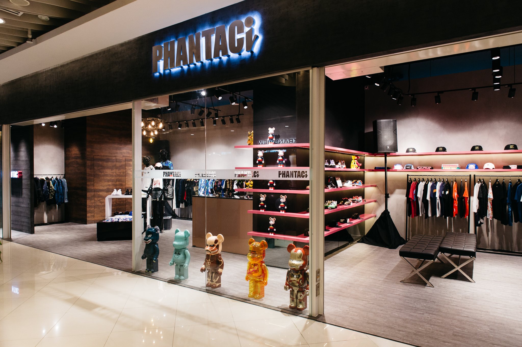 Jay Chou's streetwear boutique PHANTACi opens its doors in Singapore