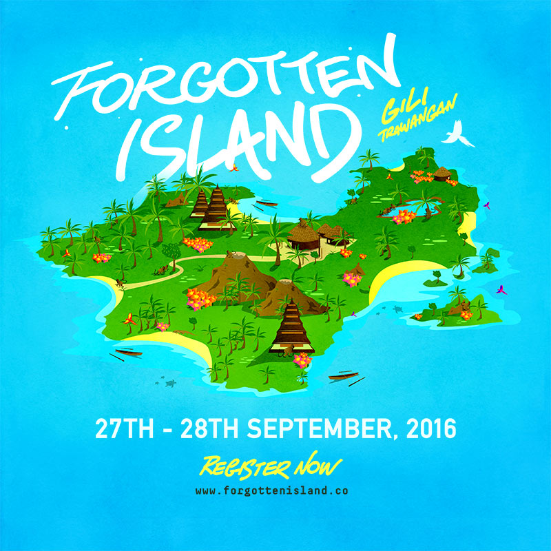 Forgotten Island Festival returns in 2016, taking place in Indonesia this September