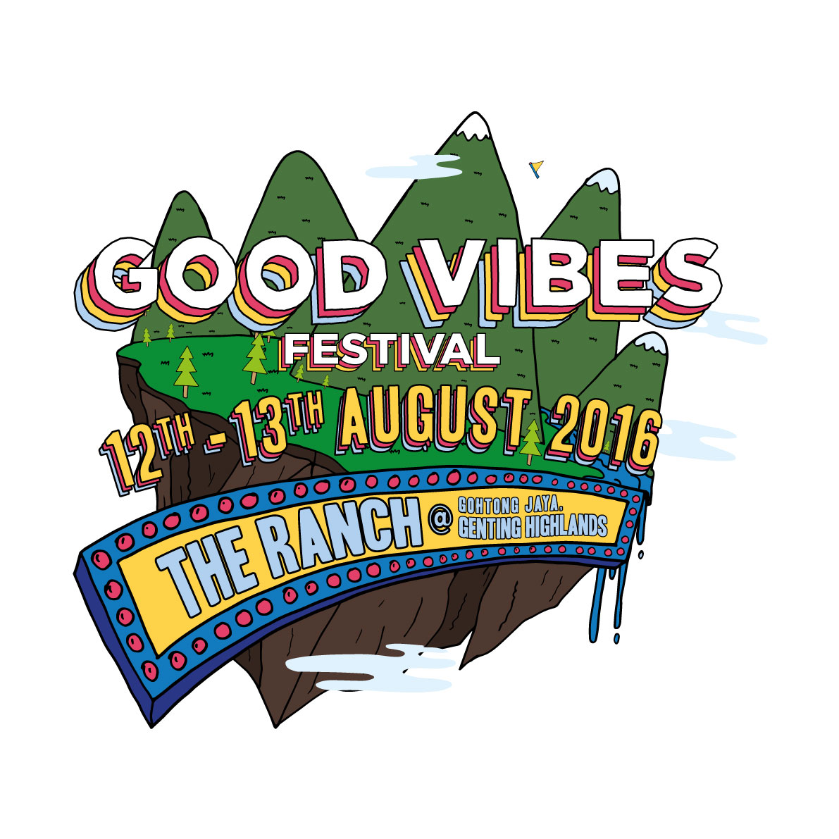 The 1975, Tokyo Police Club, Two Door Cinema Club and Mark Ronson to headline Malaysia's Good Vibes Festival