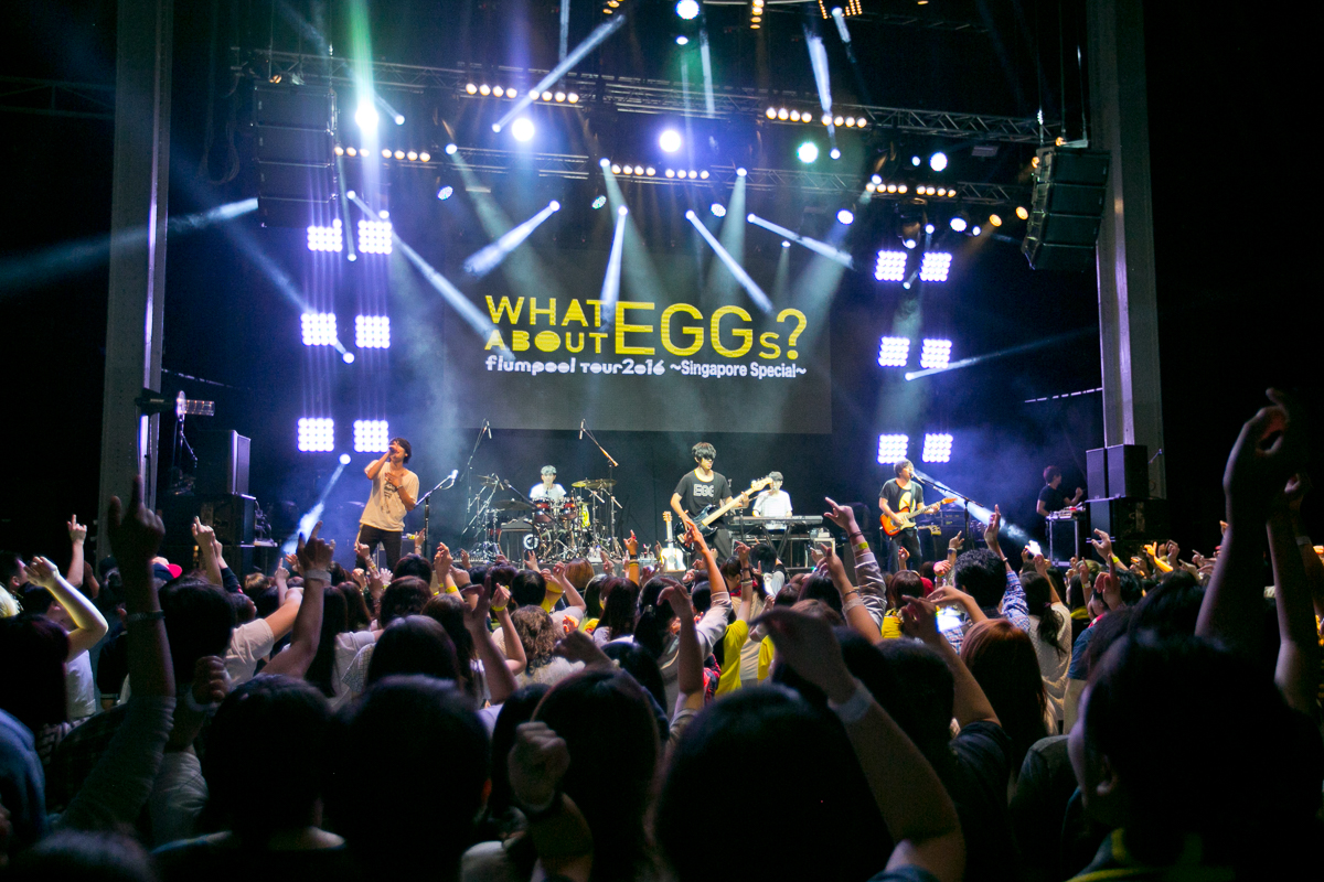 "Live Review: flumpool ""WHAT ABOUT EGGs?"" – Millian, Singapore (23.07.16)"
