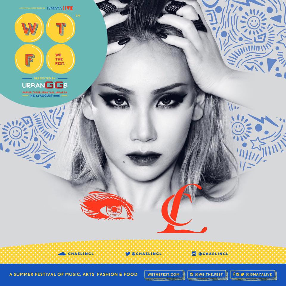 CL We The Fest
