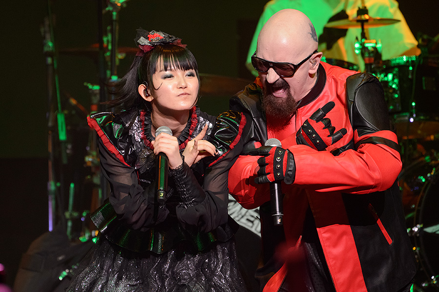 Photo Gallery: BABYMETAL with Rob Halford – APMA, The Schottenstein Center, Columbus (18.07.16)