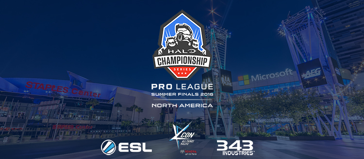 Halo Championship Series (HCS) Pro League Summer 2016 Season Finals to take place at KCON 2016