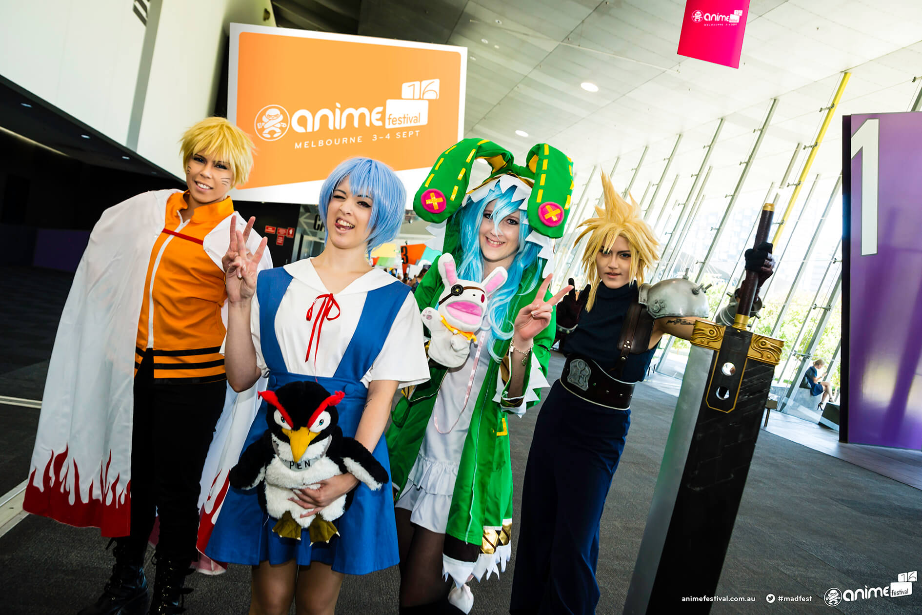 WIN fantastic prizes including double passes to Madman Anime Festival in Melbourne