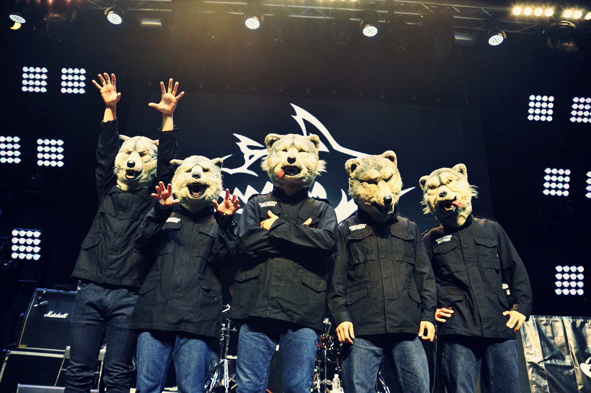 MAN WITH A MISSION on the story behind their wolf persona and latest album 'The World's On Fire'